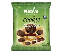 Cookie de chocolate Native orgânico 40g