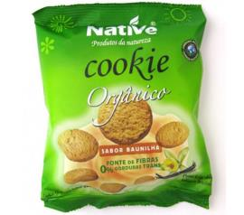 Cookie Native orgânico de baunilha 40g