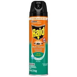 Inseticida Raid Multi-insetos Spray Base Água Eucalipto 285ml