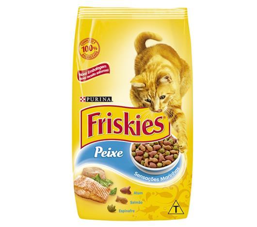 Ração para gatos Friskies sensações marinhas 3kg - Imagem em destaque