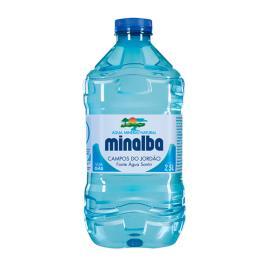 Água Mineral Minalba sem Gás Pet 2,5 litros