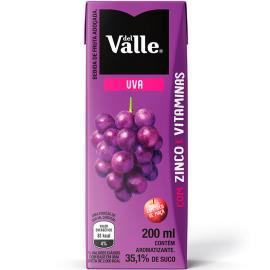 Néctar Del Valle sabor Uva 200ml