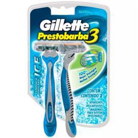 Aparelho Gillette prestobarba 3 Ice 2 unidades