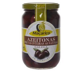 Azeitona preta intregral Galega Maçarico 210g