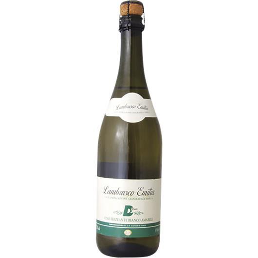 Vinho Italiano Lambrusco Dell'Emilia D'vero Branco 750ml - Imagem em destaque