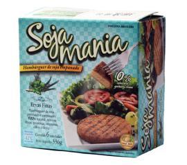 Hambúrguer Soja Mania de soja empanado sabor ervas finas 336g