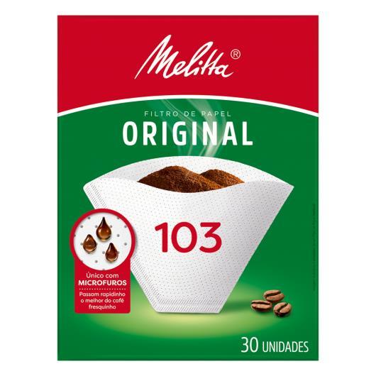 Filtro de papel Melitta 103 c/30 unids - Imagem em destaque