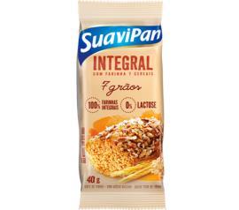 Bolinho Suavipan integral 7 grãos 40g