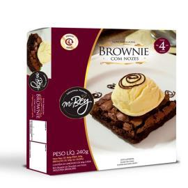 Brownie Mr.Bey com nozes 240g