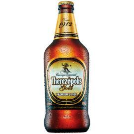 Cerveja Therezópolis Gold garrafa 600ml