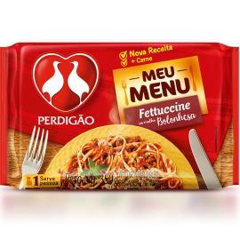 Fettuccine ao molho bolonhesa Perdigão 350g