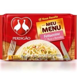 Fettuccine ao molho branco com Peru e Brócolis Perdigão 350g