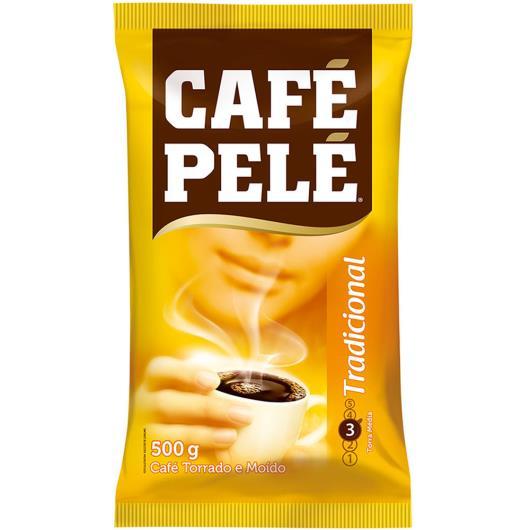 Café Almofada tradicional Pelé 500g - Imagem em destaque