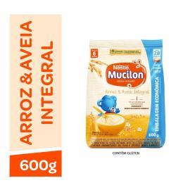 NESTLÉ Mucilon Arroz e Aveia Cereal Infantil Sachê 600g