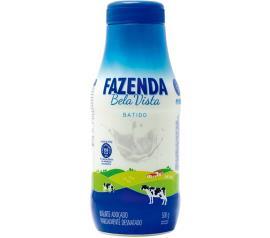 Iogurte Adoçado Fazenda Bela Vista líquido batido 500g