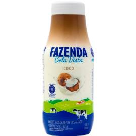Iogurte Líquido Fazenda Boa Vista  Sabor Coco 500g