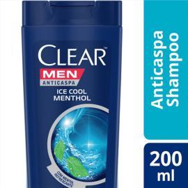 Shampoo Anticaspa CLEAR Men Ice Cool Menthol 200ml