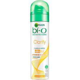 Desodorante Garnier bí-O aerossol clarify 90g