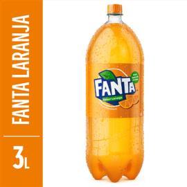 Refrigerante Fanta Laranja pet 3L