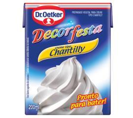 Chantilly Oetker decorfesta 200ml
