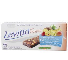 Barra de frutas Levittá salada de frutas 60g
