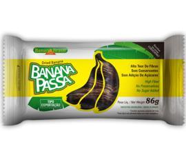 Banana Brasil - banana Passa 86g