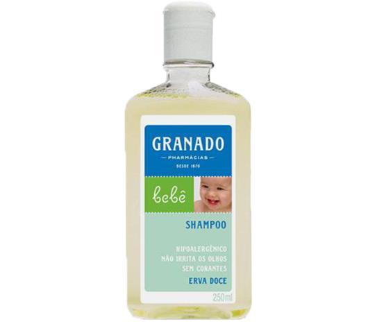 Shampoo Granado bebê erva-doce 250ml - Imagem em destaque