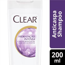 Shampoo Anticaspa Clear Women Hidratação Intensa 200 ML
