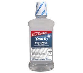 Anti-séptico bucal Oral-B pro-saúde noite leve 500ml pague 300ml