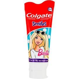 Creme Dental Infantil Colgate Smiles Barbie 6+ Anos Gel 100g