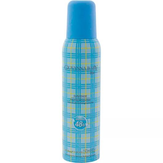 Desodorante aerossol blue Giovanna Baby 150ml - Imagem em destaque