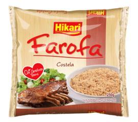 Farofa de mandioca Hikari costela 250g