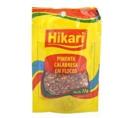 Pimenta Hikari calabresa em flocos sachê 13g