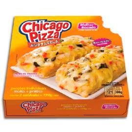 Pizza chicago sabor mussarela Melhor Bocado  380 g