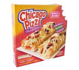 Pizza chicago sabor calabresa Melhor Bocado 380g