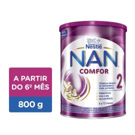 Fórmula infantil Nestlé Nan Comfor 2 800g