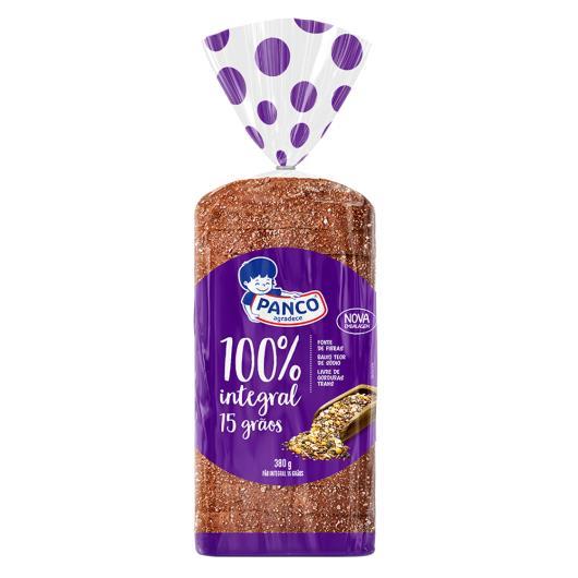 Pão Panco integral total 15 grãos 380g - Imagem em destaque