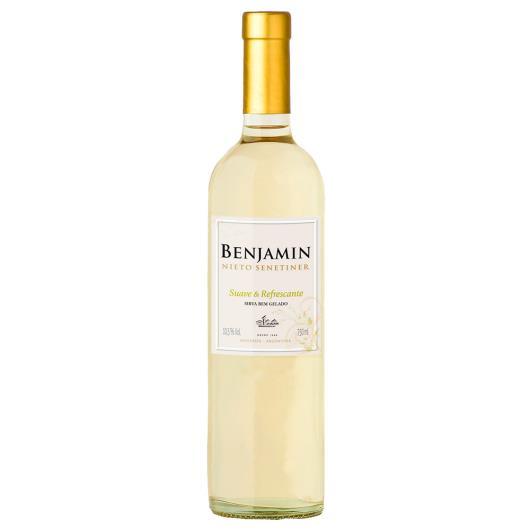 Vinho Argentino Benjamin Nieto Senetiner Suave & Refrescante branco 750ml - Imagem em destaque