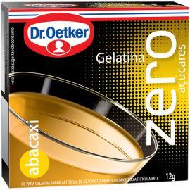 Gelatina em pó Dr. Oetker sabor abacaxi zero 12g