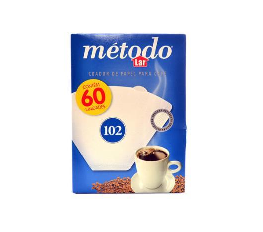 Coador de papel Método 102 com 60 unidades  - Imagem em destaque