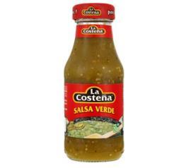 Molho de pimenta La Costeña verde salsa 250g