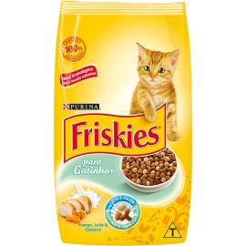 Ração para gatos Friskies sabor frango, cenoura e leite  1kg