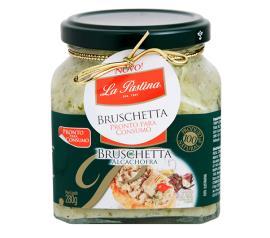 Bruschetta La Pastina alcachofra  280g
