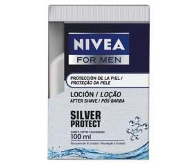 Loção Nivea for men pós-barba silv 100ml
