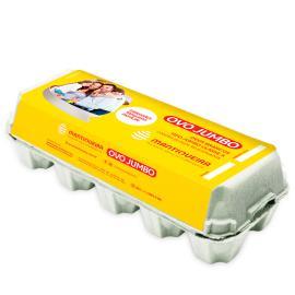 Ovos Mantiqueira branco tipo jumbo classe A com10 unidades
