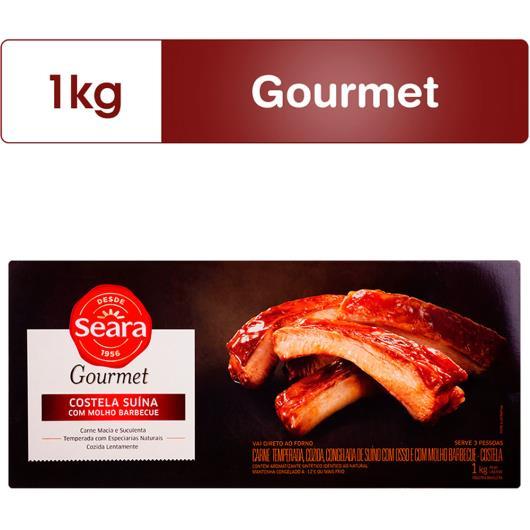 Costela suína com osso ao molho Barbecue Seara 1kg - Imagem em destaque
