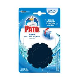 Detergente sanitário Pato 4 em 1 marine 48g