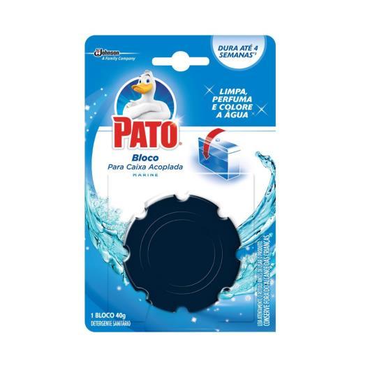 Detergente sanitário Pato 4 em 1 marine 48g - Imagem em destaque