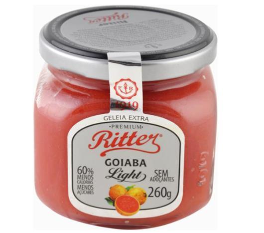 Geléia Ritter sabor goiaba light 260g - Imagem em destaque