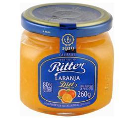 Geléia Ritter sabor laranja diet 260g